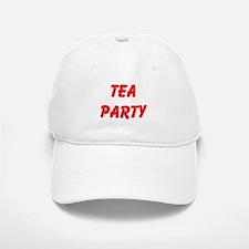 Tea Party Baseball Baseball Baseball Cap