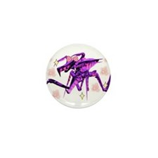 Kawaii Funk Arachnid Mini Button
