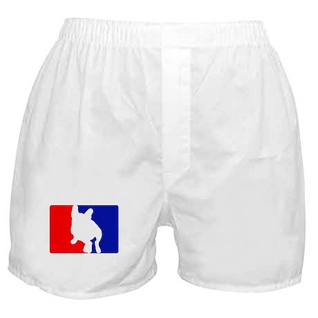 RWB Sitting Frenchie Boxer Shorts