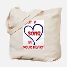 SONG IN YOUR HEART Tote Bag