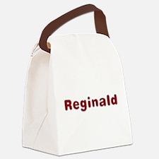 Reginald Santa Fur Canvas Lunch Bag