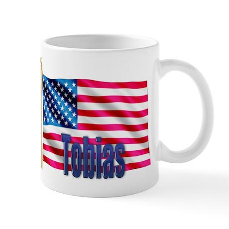 Tobias American Flag Gift Mug