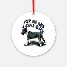 minibull pet me Ornament (Round)