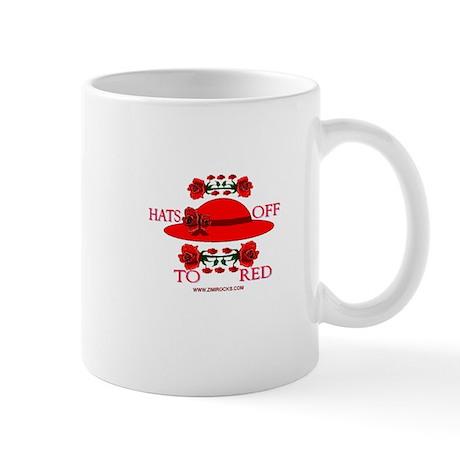 Hats Off To Red Mug