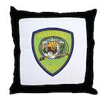 Camp Verde Marshal Throw Pillow
