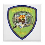 Camp Verde Marshal Tile Coaster