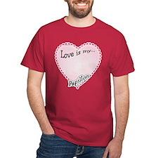 Love is my Papillon T-Shirt