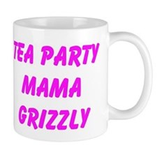 Tea Party Mama Grizzly Mugs