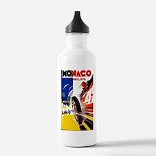 Antique 1931 Monaco Grand Prix Auto Race Poster Wa