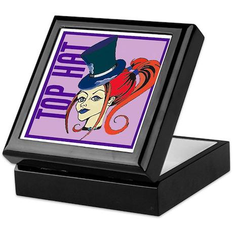 """Top Hat"" Keepsake Box"