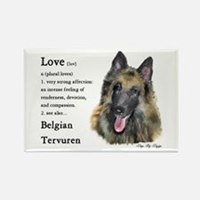 Belgian Tervuren Rectangle Magnet (10 pack)