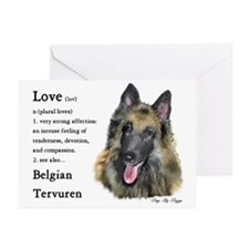 Belgian Tervuren Greeting Cards (Pk of 10)