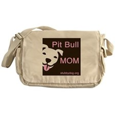 Pit Bull Mom Messenger Bag