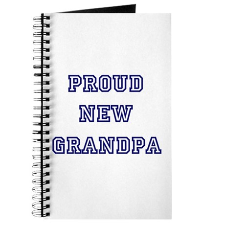 Proud New Grandpa Journal