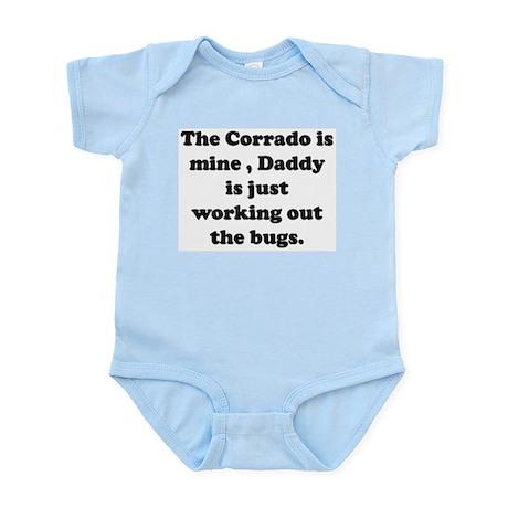 The Corrado is mine Infant Bodysuit