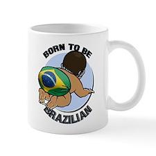 """Born to be Brazilian"" Mug"