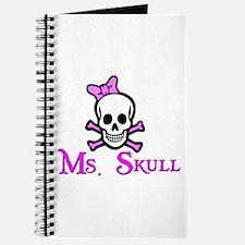 Ms. Skull & Crossbones Journal