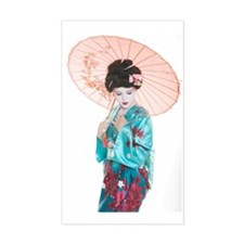 shy geisha Decal