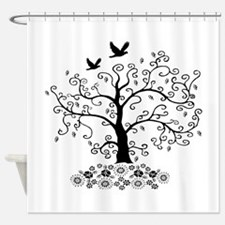 Arbor Floral Shower Curtain