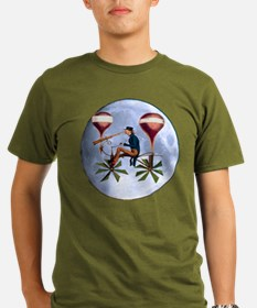 Moon Voyager - Steampunk T-Shirt
