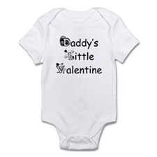 Daddy's Little Valentine Onesie