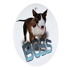 "boss ""bullie"" Oval Ornament"