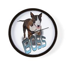 """boss """"bullie"""" Wall Clock"""