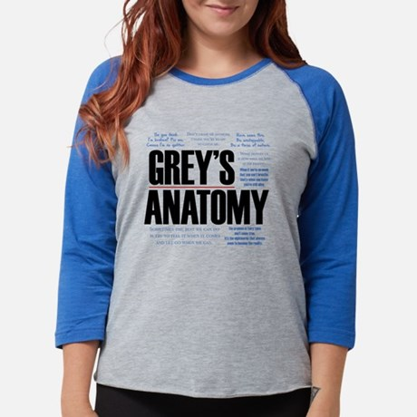 Grey's Anatomy Quotes Baseball Tee