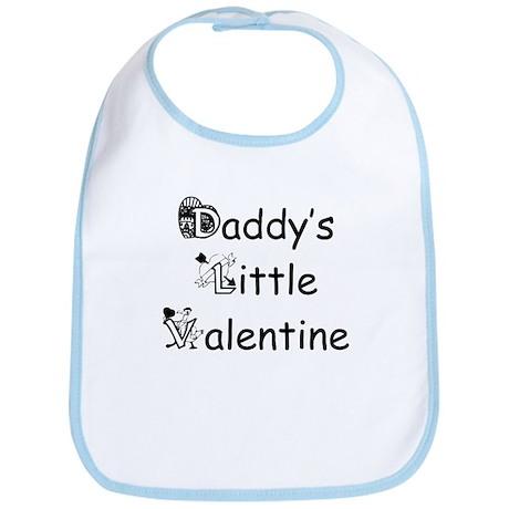 Daddy's Little Valentine Bib