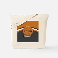 Stylish Custom Basketball Theme Tote Bag