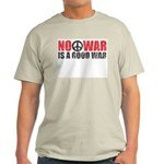 No War is a good War Ash Grey T-Shirt