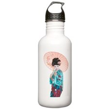shy geisha Water Bottle