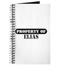 Property of Elias Journal