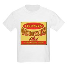 Human Oddities with faded background T-Shirt