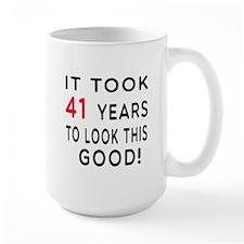 It Took 41 Birthday Designs Mug