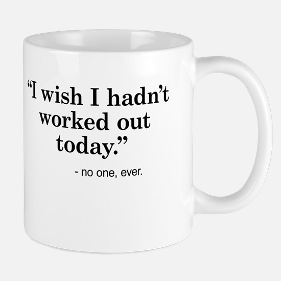 No regrets Mugs