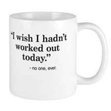 No regrets Mugs