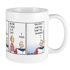 Unique Rhymes with orange comics Mug