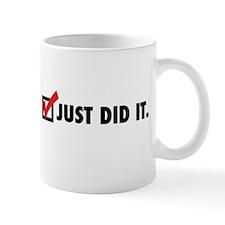 Just did it. Mugs