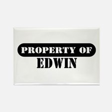 Property of Edwin Rectangle Magnet