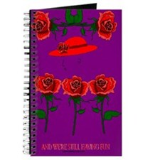 Red Roses with Red Hat Journal