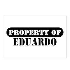 Property of Eduardo Postcards (Package of 8)