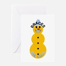 Braces are Cool Holiday Greeting Card