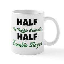 Half Air Traffic Controller Half Zombie Slayer Mug
