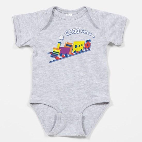Choo Choo Train Baby Body Suit