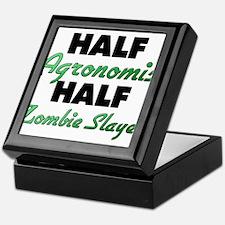 Half Agronomist Half Zombie Slayer Keepsake Box