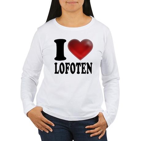 I Heart Lofoten Long Sleeve T-Shirt