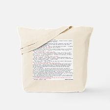 Hacker's Manifesto Tote Bag