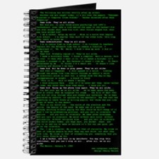 Hacker's Manifesto Journal