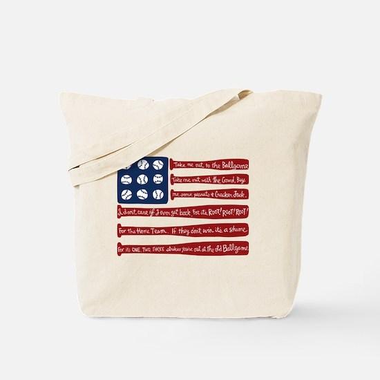 Cute Baseball Tote Bag